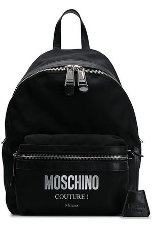 Moschino Rucksack mit Logo-Applikation