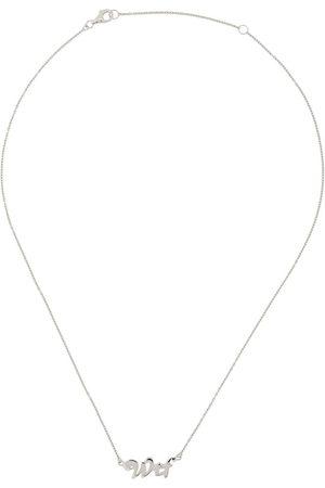 TRUE ROCKS Halskette mit WTF-Anhänger