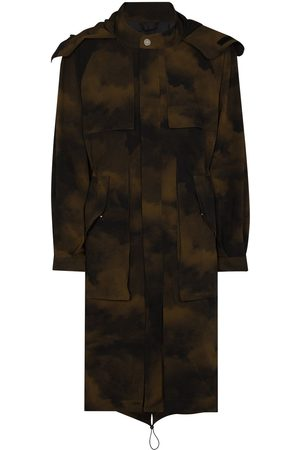 A-cold-wall* Terrain' Parka mit Camouflage-Print