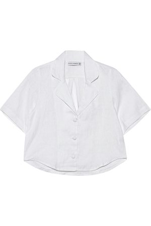 FAITHFULL THE BRAND Damen Blusen - Chaumont Plain White