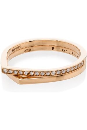 Repossi 18kt 'Antifer' Rotgoldring mit Diamanten