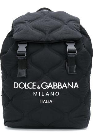 Dolce & Gabbana Rucksack mit wellenförmiger Steppung