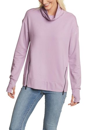 Eddie Bauer Everyday Enliven Sweatshirt mit Rollkragen Damen Gr. XS