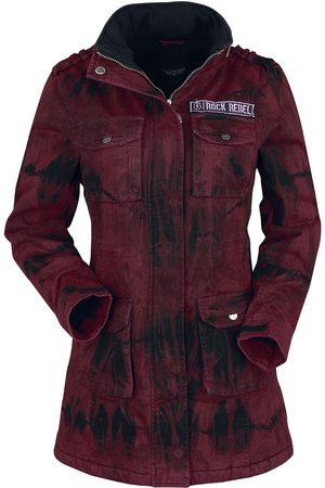Rock Rebel Damen Winterjacken - Ladies Field Jacket Winterjacke