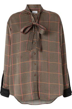 Burberry Damen Blusen - Bluse mit Schluppenkragen