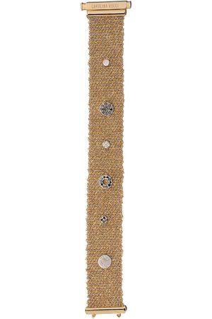CAROLINA BUCCI XII' Armband aus 18kt Gelb- und Weißgold mit Diamanten