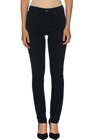 J Brand Damen High Waist Jeans - Lillie Super High Rise Flare Dark Blue