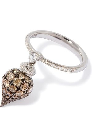 ANNOUSHKA 18kt Weißgoldring mit Diamanten