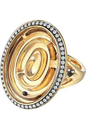 Annoushka Damen Ringe - 18kt Gelbgoldring mit Diamanten