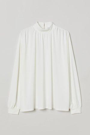 H&M Shirt mit Stehkragen