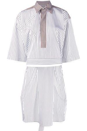 Plan C Damen Blusen - Gestreiftes Hemd