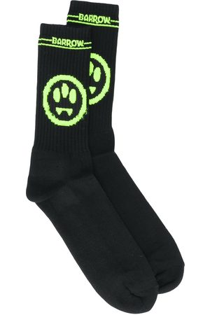 BARROW Jacquard-Socken mit Smiley