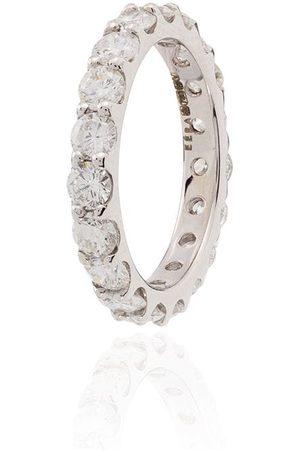 Eera Ohrringanhänger aus 18kt Weiß mit Diamanten