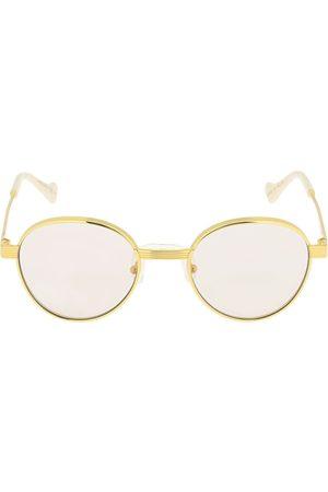 """Gucci Runde Sonnenbrille Aus Metall """"gg0872s"""""""