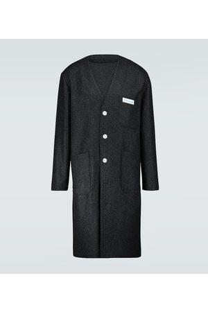 RAF SIMONS Mantel Classic Labo aus Wolle