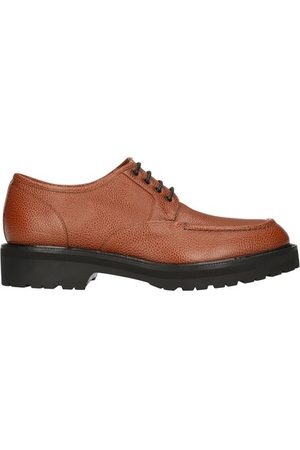 DRIES VAN NOTEN Derbys aus genarbtem Leder