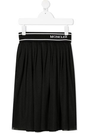 Moncler Mädchen Faltenröcke - Faltenrock mit Logo-Bund
