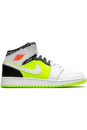 Nike TEEN 'Air Jordan 1 Mid Notebook' Sneakers
