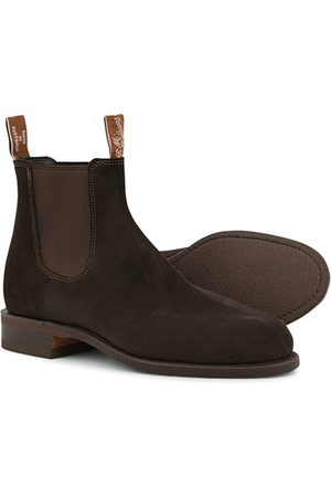 R.M.Williams Herren Stiefel - Wentworth G Boot Chocolate Suede