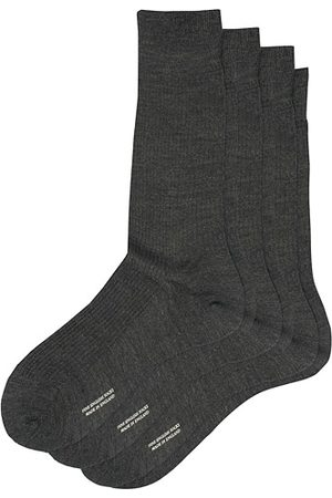 Pantherella 3-Pack Naish Merino/Nylon Sock Charcoal