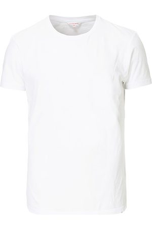 Orlebar Brown Herren T-Shirts - OB Crew Neck Tee White