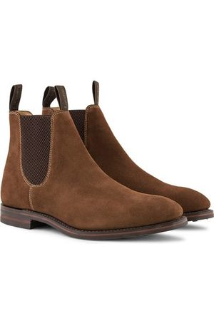 Loake Chatsworth Chelsea Boot Brown Suede