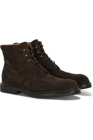 Heschung Ginkgo Boot Dark Brown Suede