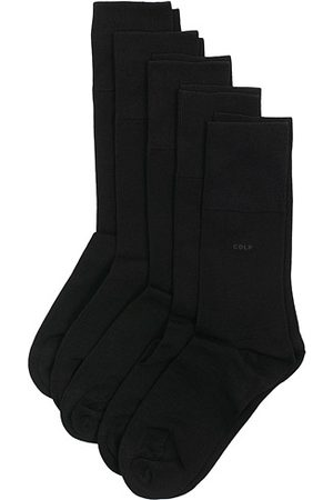 CDLP 5-Pack Bamboo Socks Black