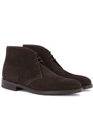 Loake Pimlico Chukka Boot Dark Brown Suede