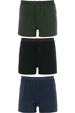 CDLP 3-Pack Boxer Shorts Black/Army/Navy