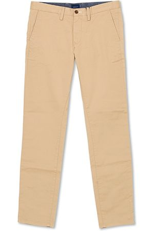 GANT Herren Chinos - Slim Twill Chino Dark Khaki
