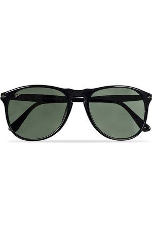 Persol PO9649S Sunglasses Black/Crystal Green