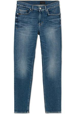 Tiger of Sweden Herren Cropped - Evolve Free Jeans Light Blue