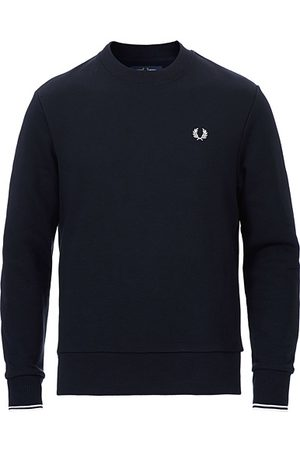 Fred Perry Herren Sweatshirts - Crew Neck Sweatshirt Navy