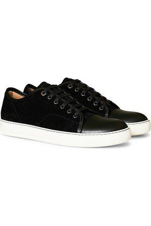 Lanvin Nappa Captoe Sneaker Black