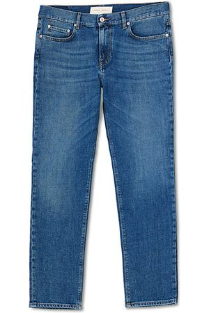 Jeanerica Herren Slim - SM001 Slim Jeans Mid Vintage