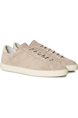 C.QP Racquet Sneaker Beige Suede