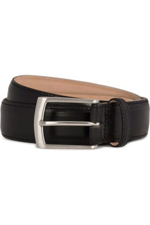 Loake Henry Leather Belt 3,3 cm Black