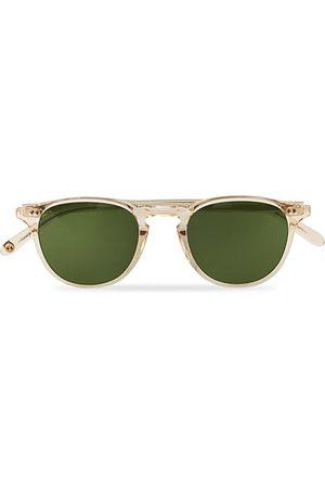 GARRETT LEIGHT Hampton 46 Sunglasses Pure Green