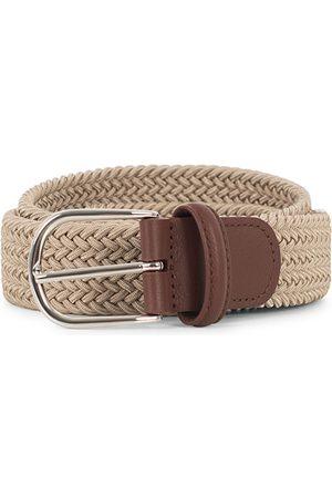 Anderson's Herren Gürtel - Stretch Woven 3,5 cm Belt