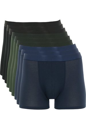 CDLP 9-Pack Boxer Brief Black/Army/Navy