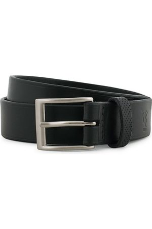 Tarnsjo Garveri Leather Belt 3cm Black