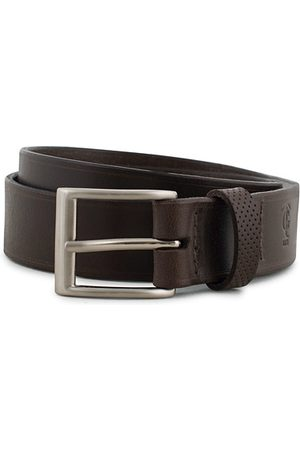 Tarnsjo Garveri Leather Belt 3cm Dark Brown