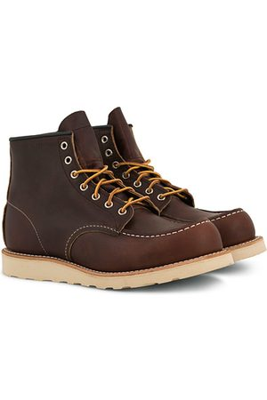 Red Wing Moc Toe Boot Briar Oil Slick Leather