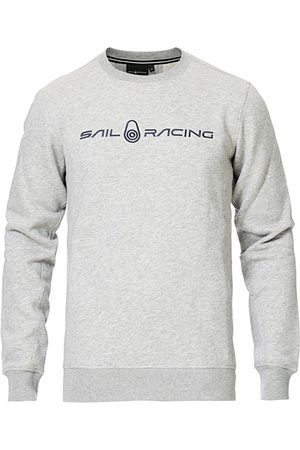 Sail Racing Bowman Crew Neck Sweater Grey Melange