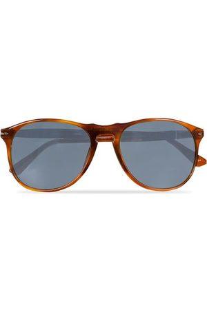 Persol Herren Sonnenbrillen - PO9649S Sunglasses Terra Di Siena/Blue