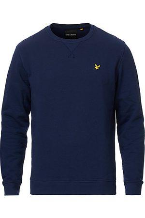 Lyle & Scott Herren Sweatshirts - Crew Neck Sweatshirt Navy