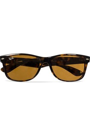 Ray-Ban New Wayfarer Sunglasses Light Havana/Crystal Brown