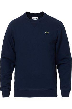 Lacoste Crew Neck Sweatshirt Navy Blue