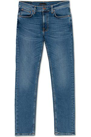 Nudie Jeans Herren Cropped - Lean Dean Organic Jeans Lost Orange